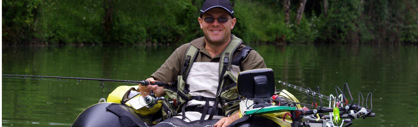 kayak fish finder - stripe