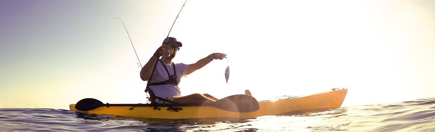 kayak fishing tips - catch fish