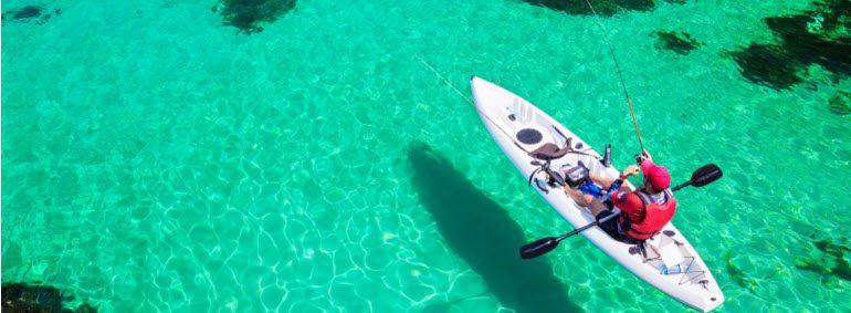 ocean fishing kayaks - stripe