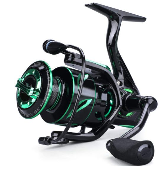 Kayak fishing reel - option 1