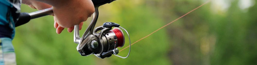 Kayak fishing reel - spinning reel