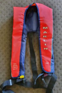 lifejackets for kayak - mine