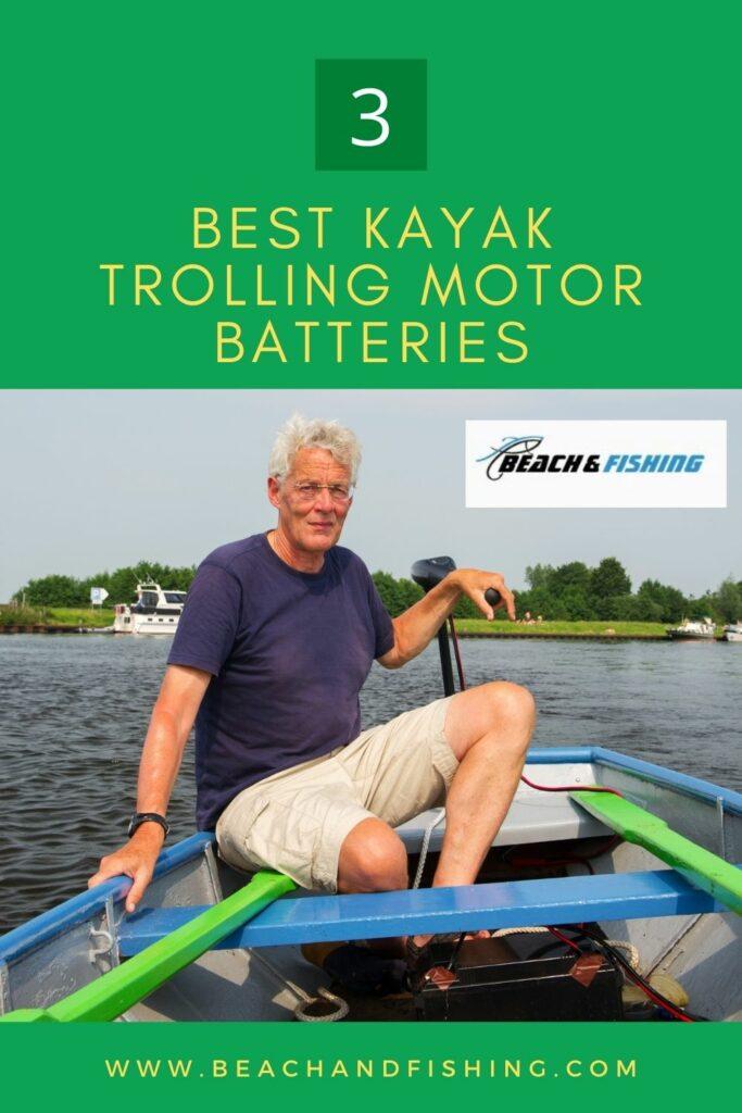 Kayak Trolling Motor Batteries - Pinterest