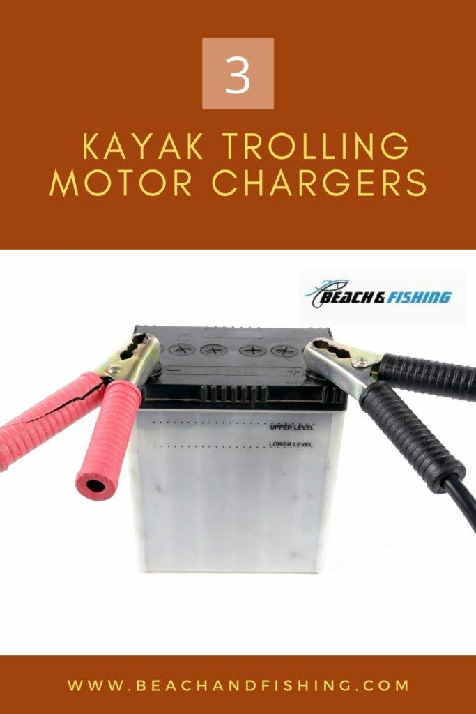 3 Kayak Trolling Motor Chargers - Pinterest