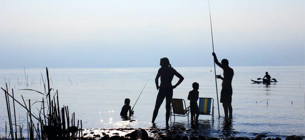 fishing rods for kids - stripe
