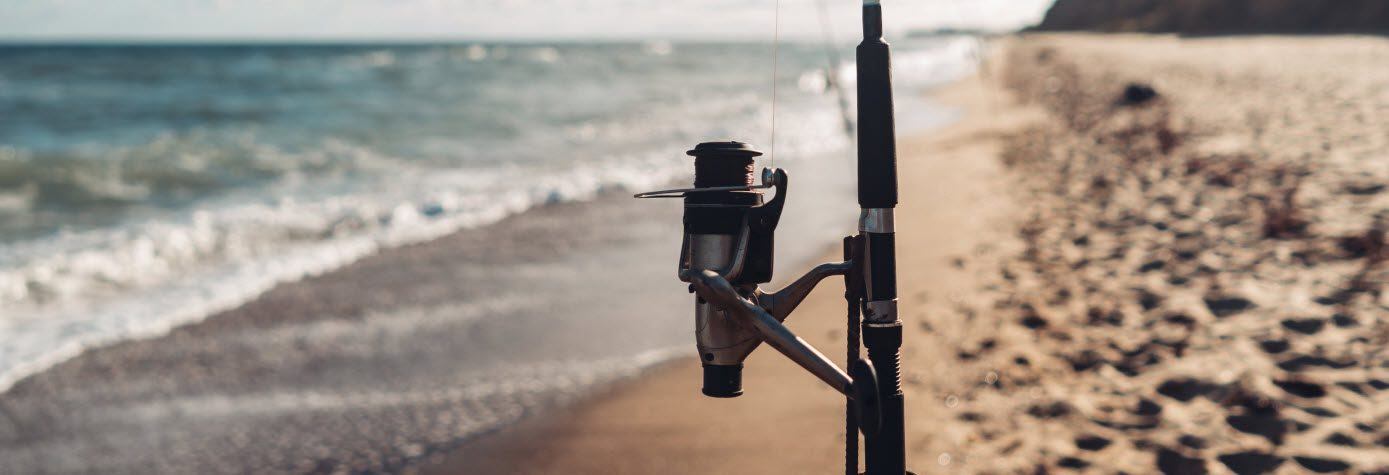 surf fishing rod and reel combos - stripe 1