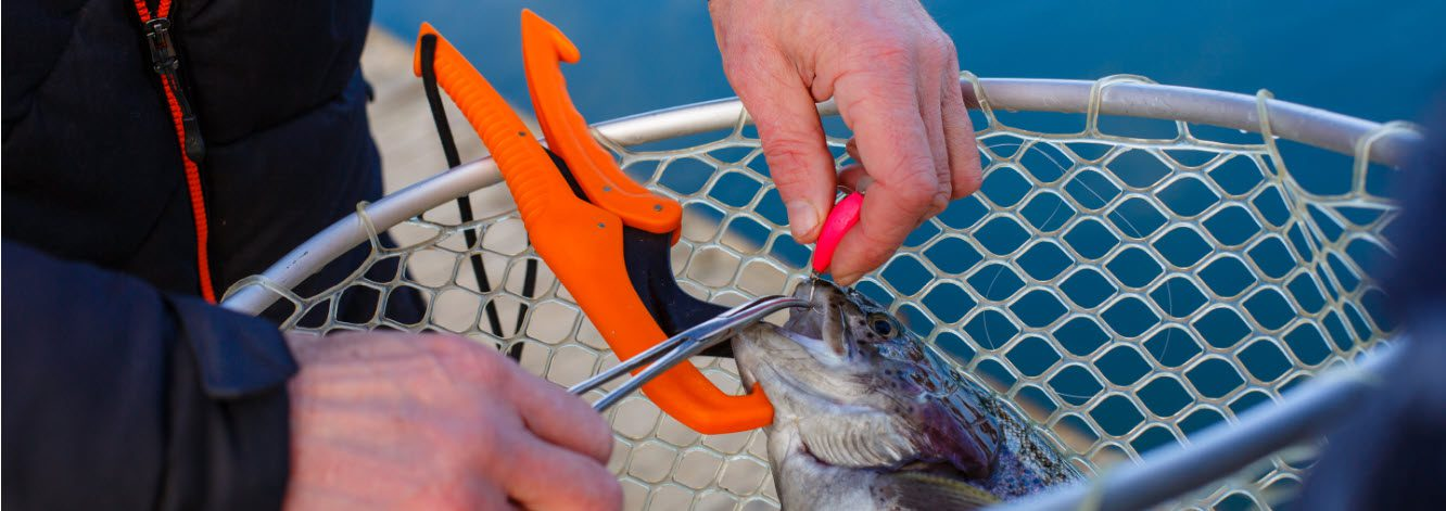 tools for surf fishing - lip grip