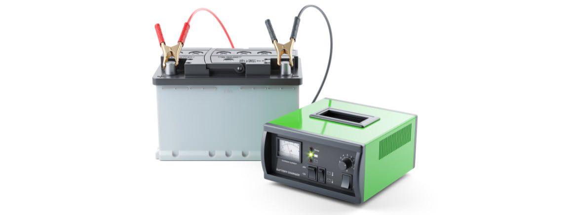 trolling motor battery charger - stripe 2