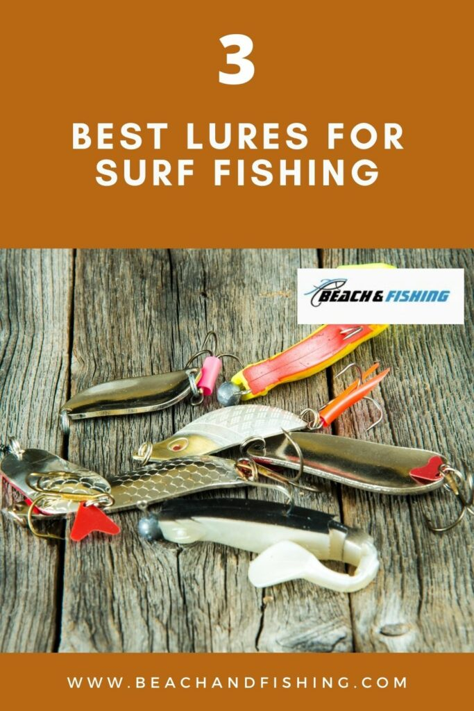 3 best lures for surf fishing - pinterest