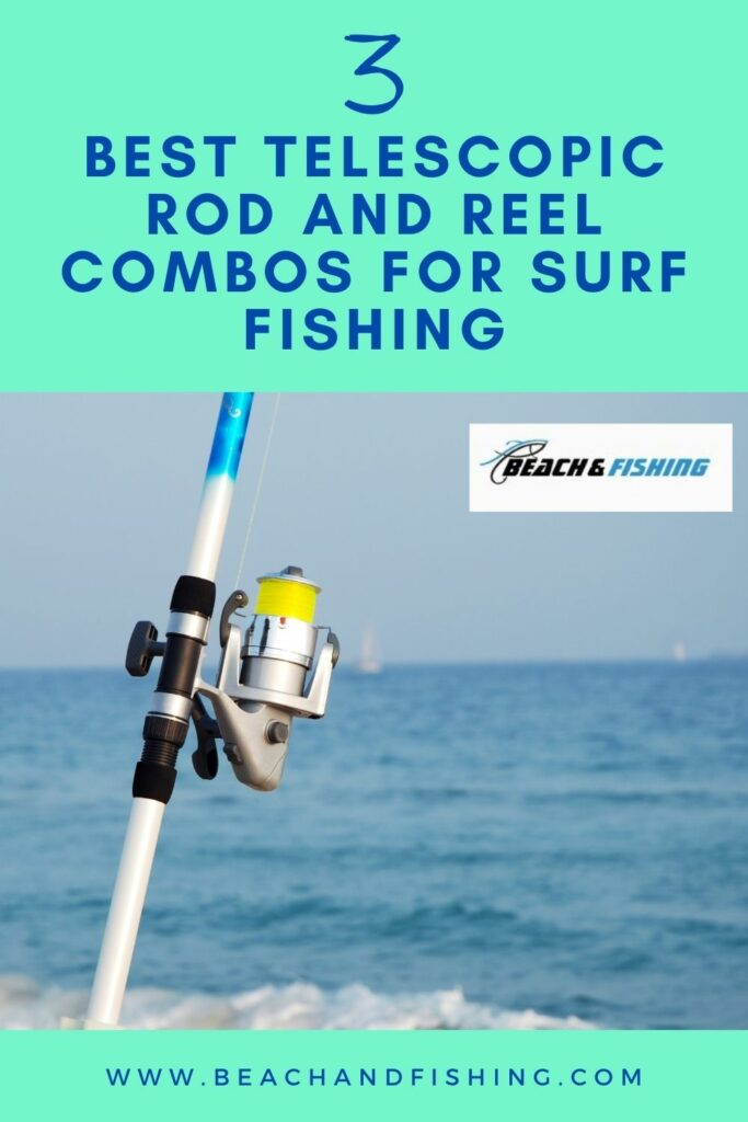 3 telescopic rod and reel combos for surf fishing - Pinterest