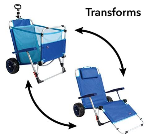 carts for beach fishing - option 3