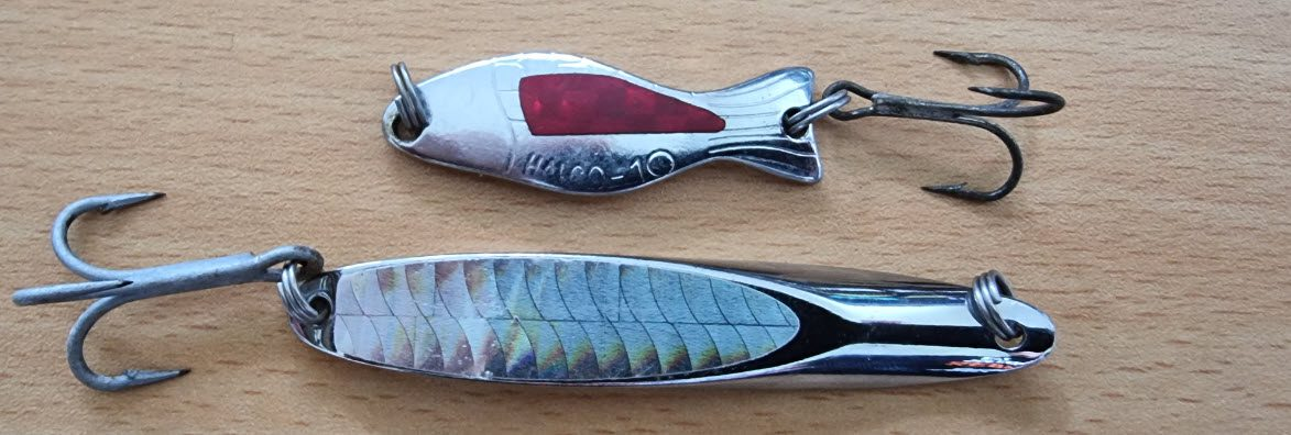 lures for surf fishing - spoon