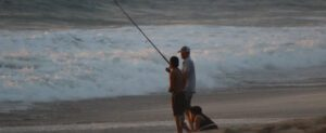 surf fishing mistakes - evening