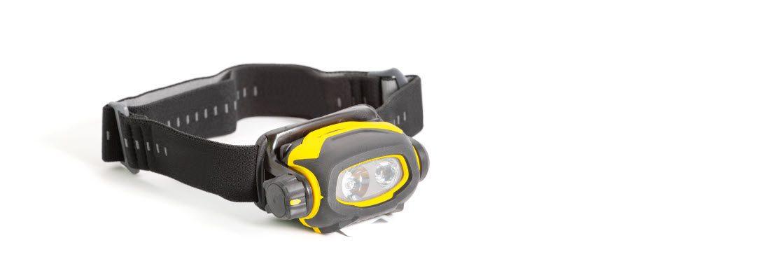 tips for night fishing - headlamp