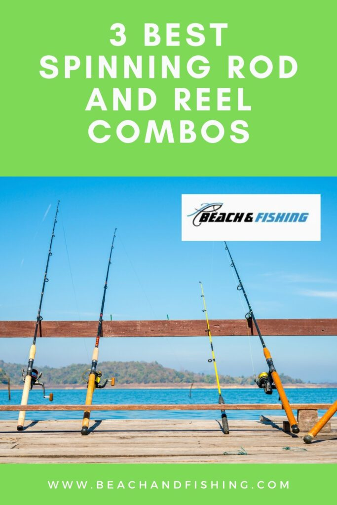 3 Best Spinning Rod and Reel Combos - pinterest