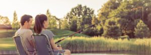 general rod and reel combos - couple fishing
