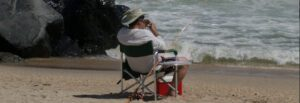 surf fishing chairs - stripe