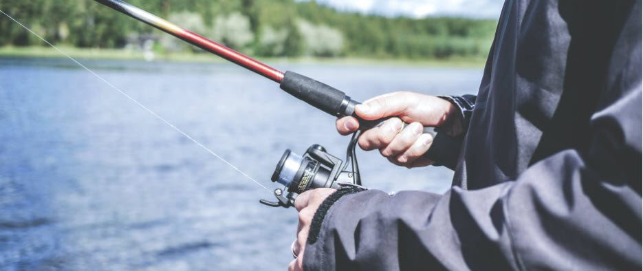 what do i need to start fishing - spinner reel and rod