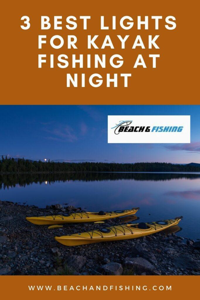 best lights kayak fishing - pinterest