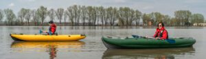 what to look for in a fishing kayak - inflatable fishing kayak