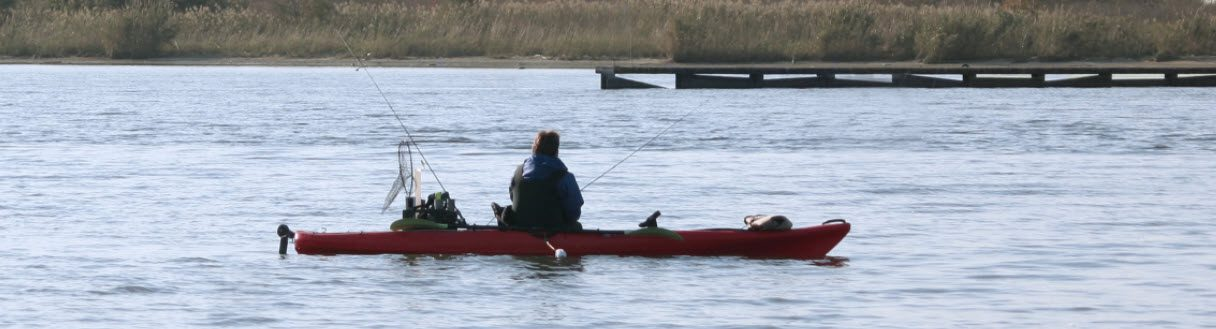 what to look for in a fishing kayak - sit on top fishing
