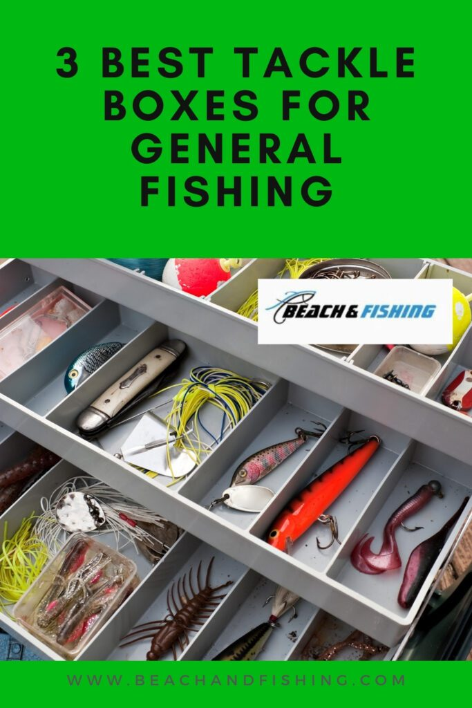 3 Best Tackle Boxes For General Fishing - Pinterest