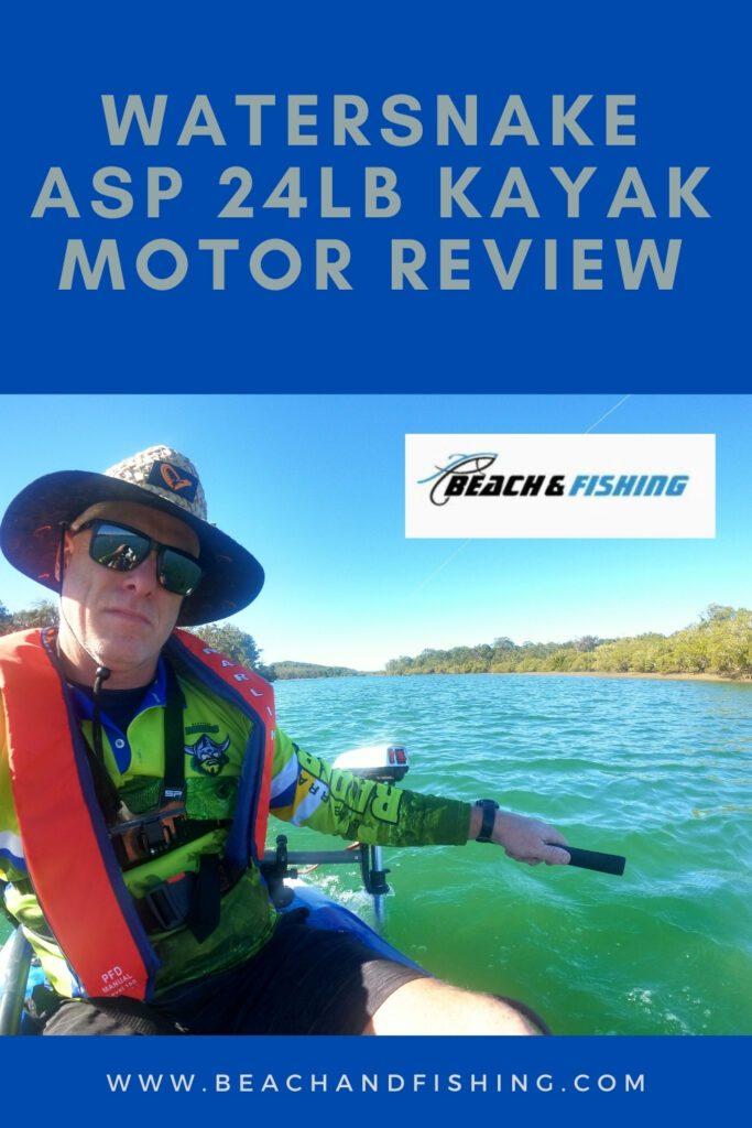 Watersnake ASP 24Lb Kayak Motor Review - Pinterest