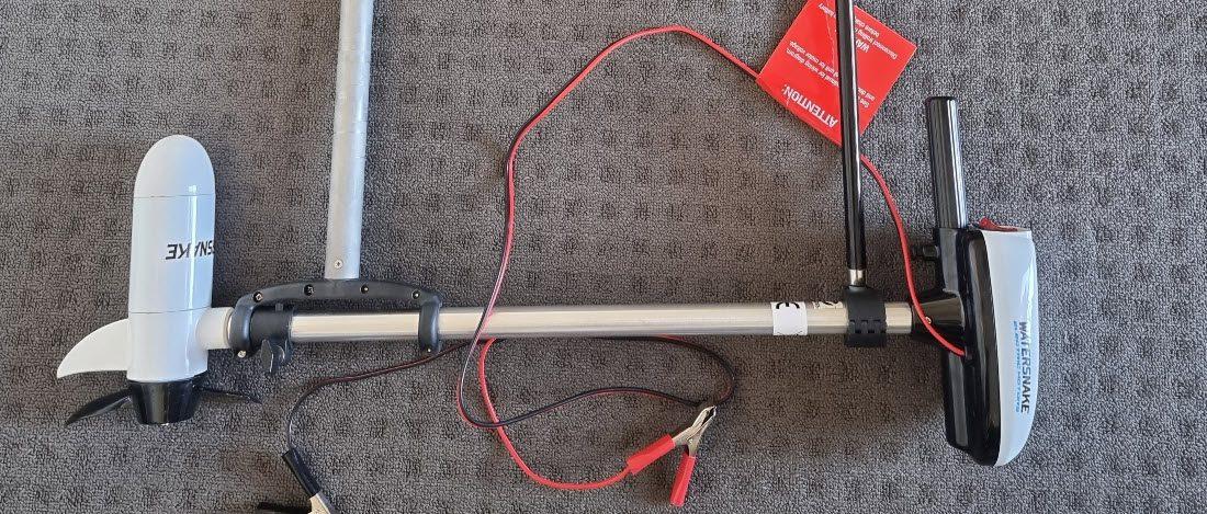 Watersnake ASP kayak motor review - full motor
