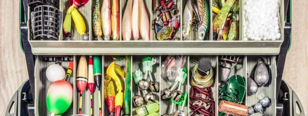 Fishing tackle storage ideas - tackle box