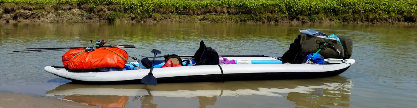2 person inflatable fishing kayaks - kayak with load