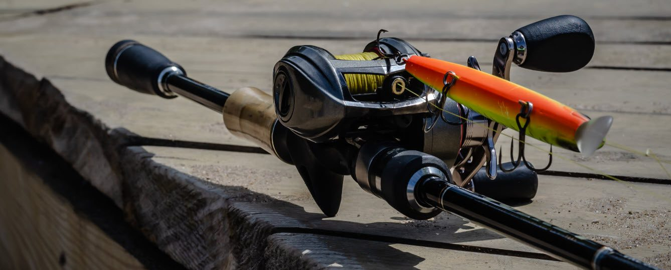 Baitcaster combos for bass fishing - baitcaster reel and rod