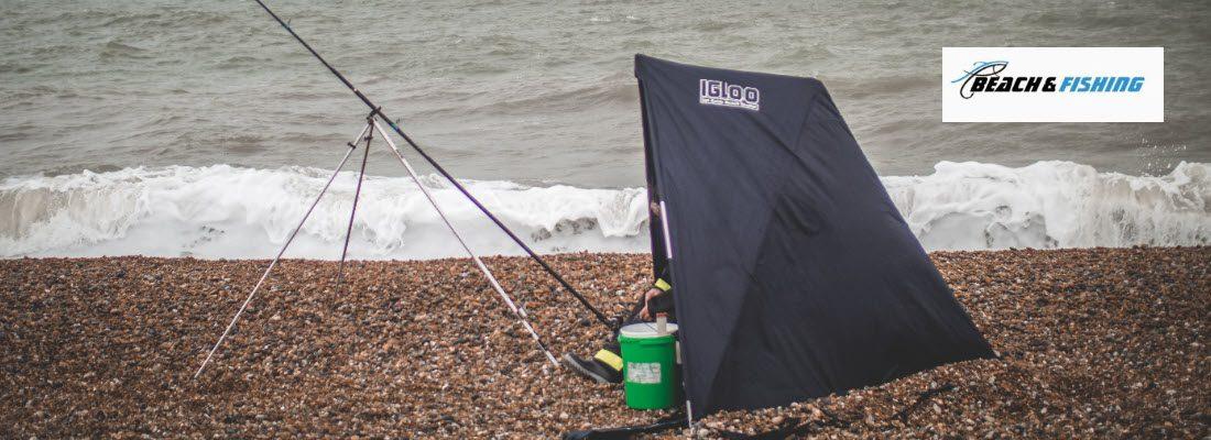beach fishing shelters - Header