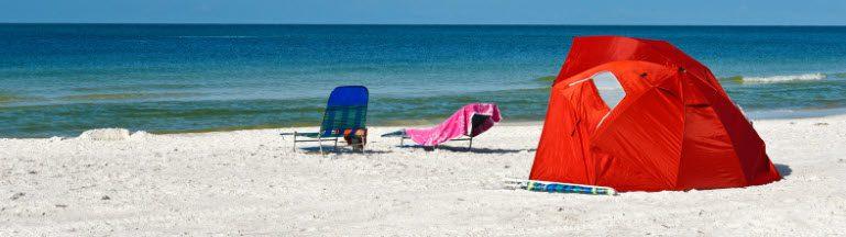 beach fishing shelters - steve's shelter