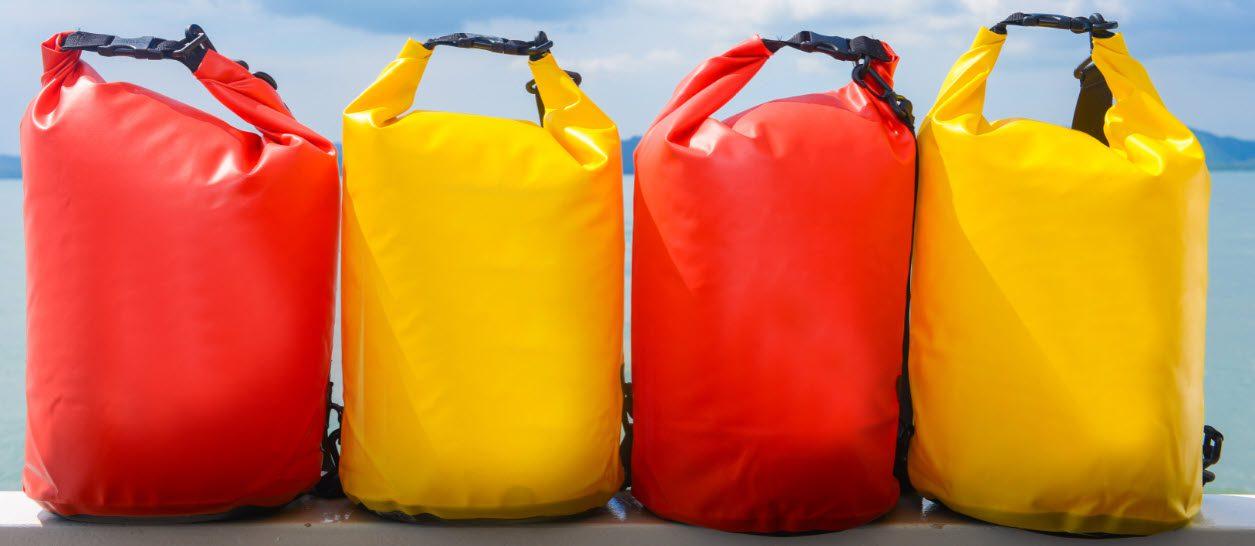 fishing dry bag - 4 bags