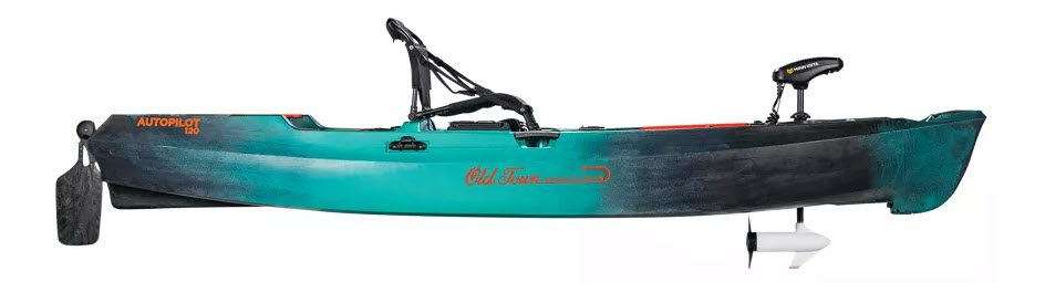 high end fishing kayaks - Old town side view