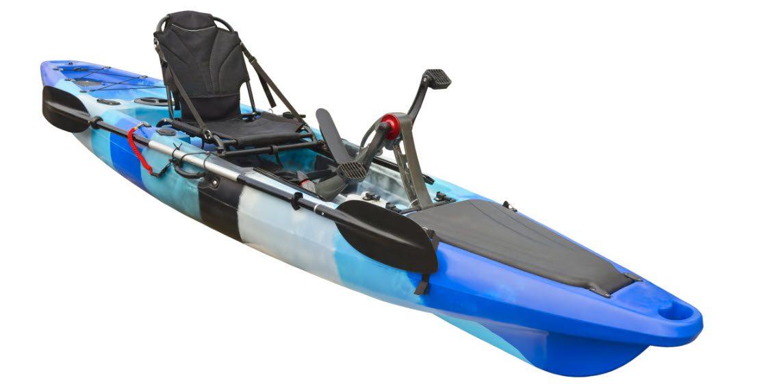 high end fishing kayaks - pedal kayak