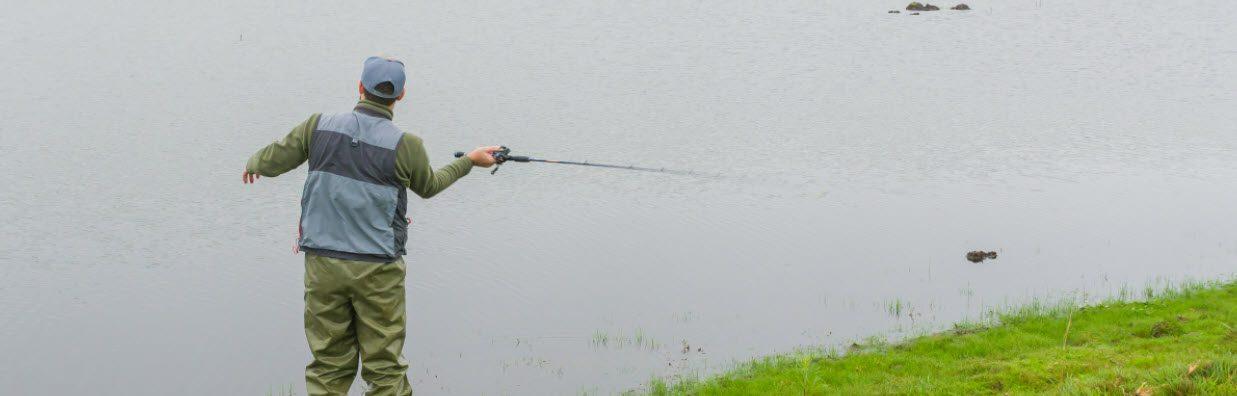 largemouth bass fishing tips - casting rod
