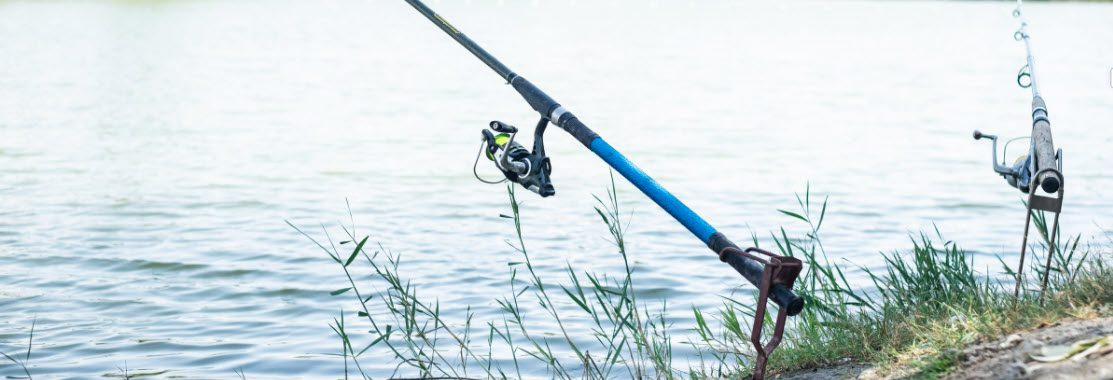 spinning rods for bass fishing - spinning rods in holders