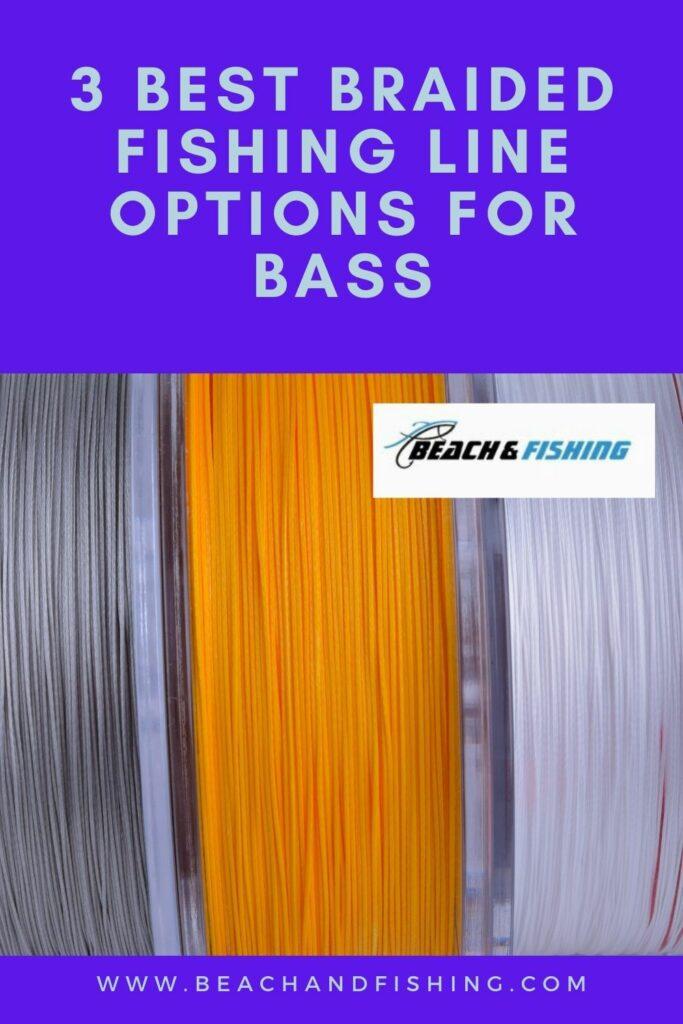 3 Best Braided Fishing Line Options For Bass - Pinterest