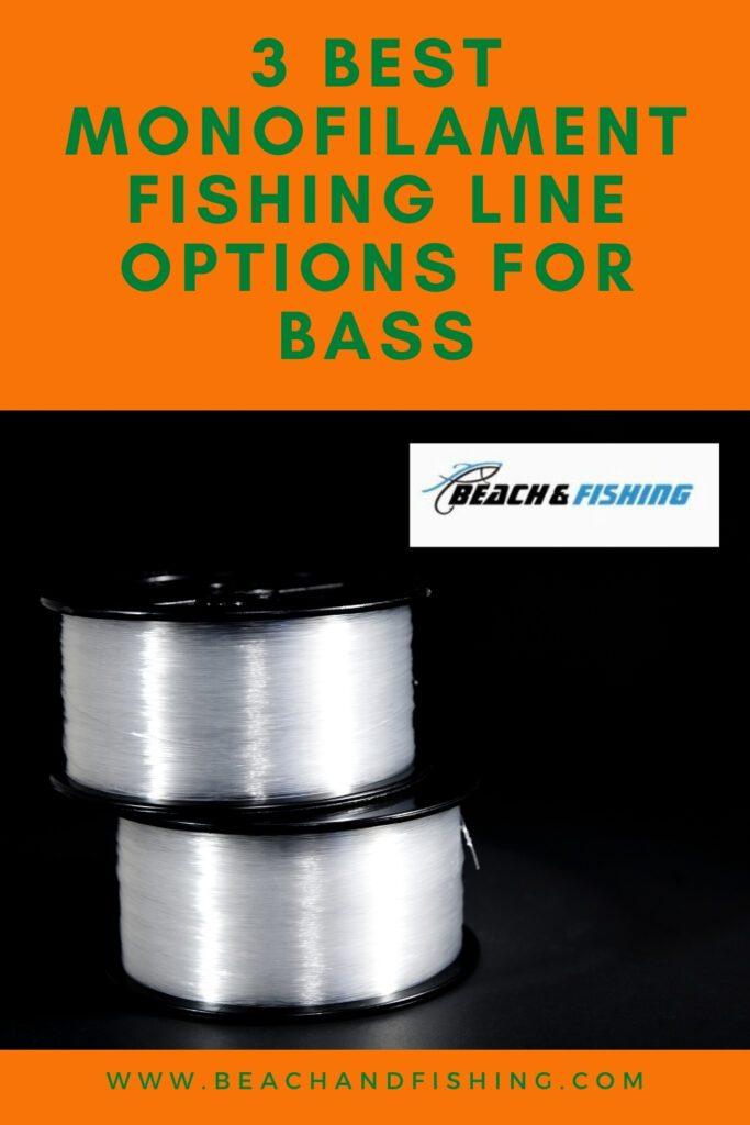 3 Best Monofilament Fishing Line Options for Bass - Pinterest