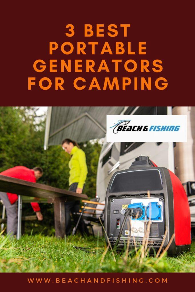 3 Best Portable Generators For Camping - Pinterest