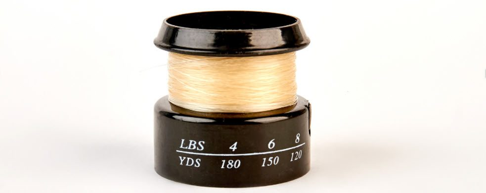 Best Monofilament Fishing Line Options for Bass - spool with mono