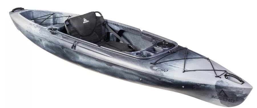 best sit in kayaks for fishing - ascend FS10