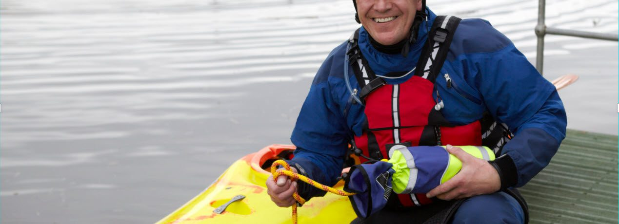 Stay Safe When Fishing On A Kayak - man with life jacket