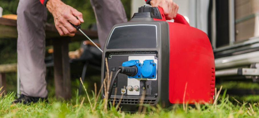 best portable generators for camping - generator