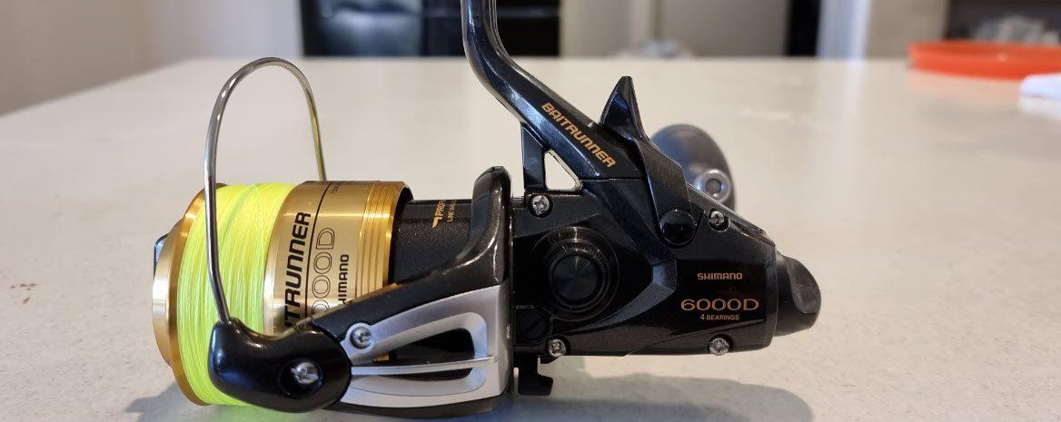Shimano baitrunner review - 6000D Baitrunner