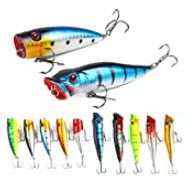 lures for smallmouth bass - Bass poppers
