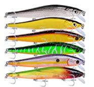 lures for smallmouth bass - Minnow jerkbaits