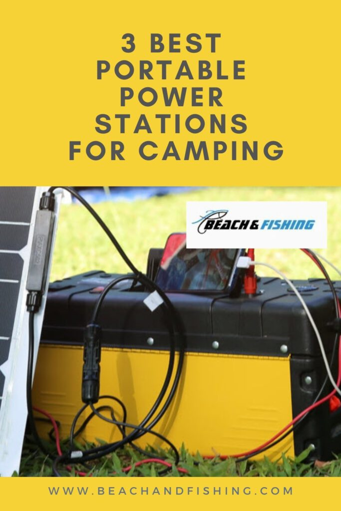 3 best portable power stations for camping - Pinterest