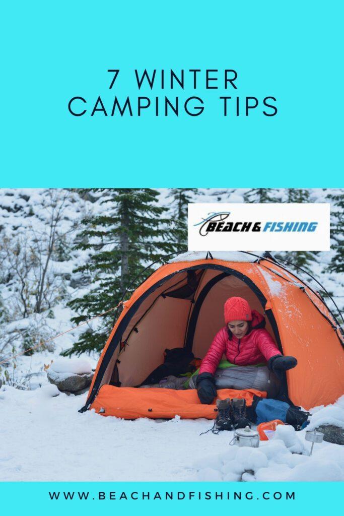 7 Winter Camping Tips - Pinterest